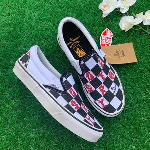 Vans Classic CheckerBoard Slip On Limited Edition